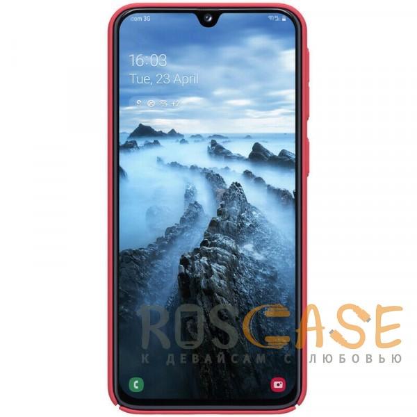 Фотография Красный Nillkin Super Frosted Shield | Матовый чехол для Samsung A405F Galaxy A40