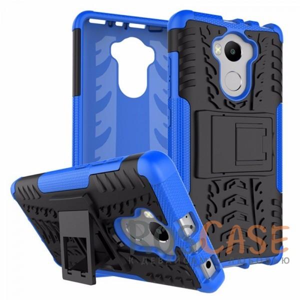 Противоударный двухслойный чехол Shield для Xiaomi Redmi 4 / Redmi 4 Pro / 4 Prime с подставкой (Синий)Описание:совместим с Xiaomi Redmi 4 /Xiaomi Redmi 4 Pro / Redmi 4 Prime;удобная функция подставки;материал - поликарбонат, термополиуретан;тип - накладка.<br><br>Тип: Чехол<br>Бренд: Epik<br>Материал: TPU