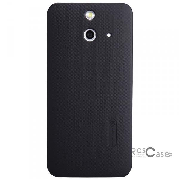 Чехол Nillkin Matte для HTC One / E8 (+ пленка) (Черный)Описание:производитель  -  Nillkin;совместим с HTC One / E8;материал  -  пластик;форма  -  накладка.&amp;nbsp;Особенности:ребристая поверхность;матовая фактура;все вырезы соответствуют модели смартфона;легко очищается;тонкий дизайн не увеличивает габариты;защищает от механических повреждений;пленка в комплекте;не скользит в руках.<br><br>Тип: Чехол<br>Бренд: Nillkin<br>Материал: Поликарбонат