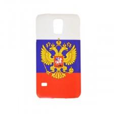 """Оригинальный чехол """"Флаг и орел""""  для Samsung Galaxy S5 (G900F)"""
