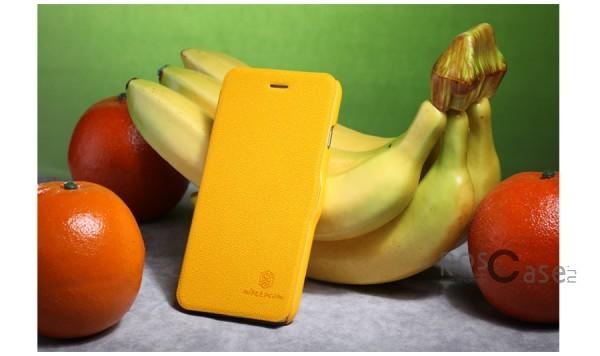"""Фотография Желтый Nillkin Fresh   Чехол-книжка с магнитной застежкой для Apple iPhone 6/6s (4.7"""")"""