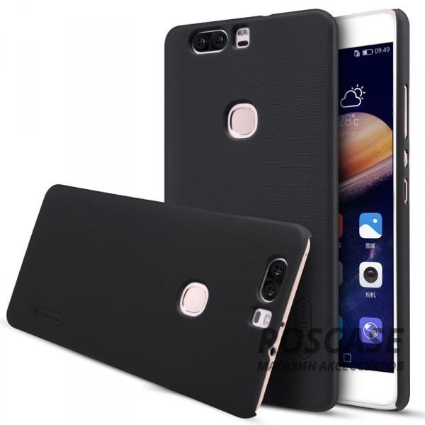 Матовый чехол для Huawei Honor V8 (+ пленка) (Черный)Описание:бренд:&amp;nbsp;Nillkin;разработан для Huawei Honor V8;материал: поликарбонат;тип: накладка.Особенности:не скользит в руках благодаря рельефной поверхности;защищает от повреждений;прочный и долговечный;легко устанавливается и снимается;пленка для защиты экрана в комплекте.<br><br>Тип: Чехол<br>Бренд: Nillkin<br>Материал: Пластик