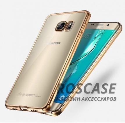 Прозрачный силиконовый чехол для Samsung G930F Galaxy S7 с глянцевой окантовкой (Золотой)Описание:подходит для Samsung G930F Galaxy S7;материал - силикон;тип - накладка.Особенности:глянцевая окантовка;прозрачный центр;гибкий;все вырезы в наличии;не скользит в руках;ультратонкий.<br><br>Тип: Чехол<br>Бренд: Epik<br>Материал: Силикон