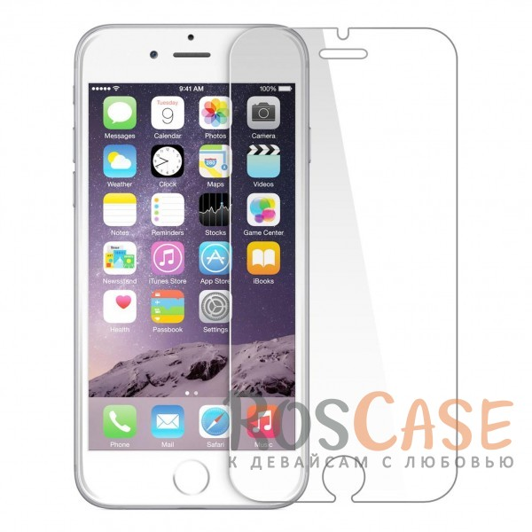 "Фото Защитное стекло U-Glass 0.33mm (H+) для Apple iPhone 6 plus (5.5"")  / 6s plus (5.5"") (картонная упаковка)"
