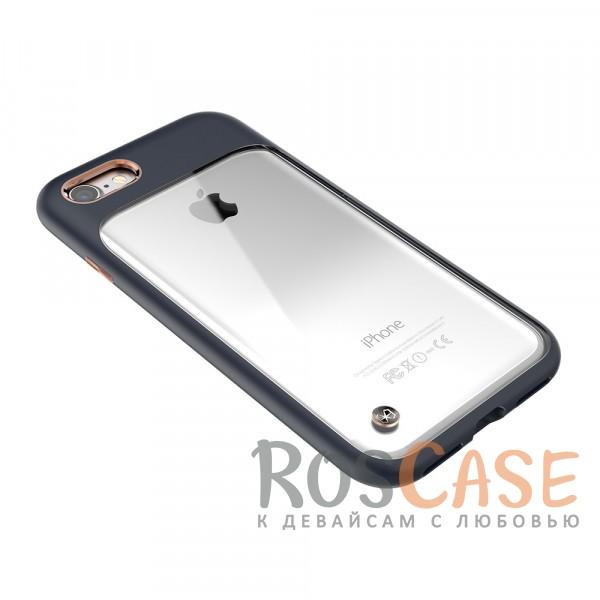 "Фото Синий STIL Monokini | Прозрачный чехол для Apple iPhone 7 / 8 (4.7"") с силиконовым бампером"