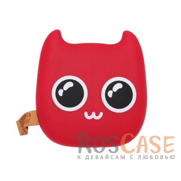 Дополнительный внешний аккумулятор Devil 7800mAh (2 USB 2.0 A) (Красный Няшка)Описание:производитель  - &amp;nbsp;Epik;совместимость  -  универсальная (смартфон, плеер, планшет и др.);материал  -  пластиковый корпус;тип  -  внешний аккумулятор.&amp;nbsp;Особенности:емкость  -  7800 mAh;2 USB;напряжение  -  5V/1A, 5V/2A;размер 98 x 94 x 28 мм;оригинальный дизайн;матовый.<br><br>Тип: Внешний аккумулятор<br>Бренд: Epik