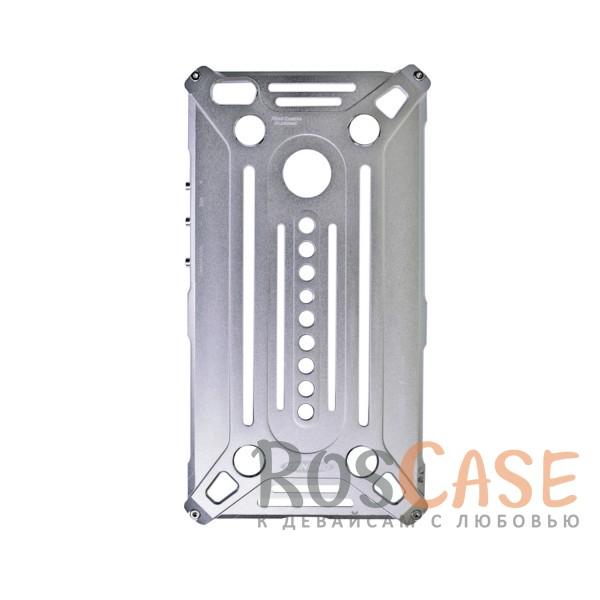 Противоударный цельнометаллический чехол из авиационного алюминия на винтах Kaneng для Xiaomi Mi Max (Серебряный)<br><br>Тип: Чехол<br>Бренд: Epik<br>Материал: Металл