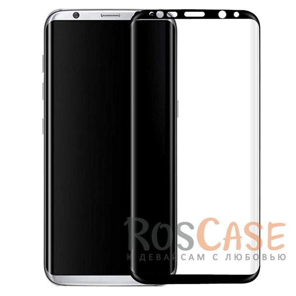Фото Защитное стекло 3D с цветной рамкой на весь экран для Samsung G950 Galaxy S8