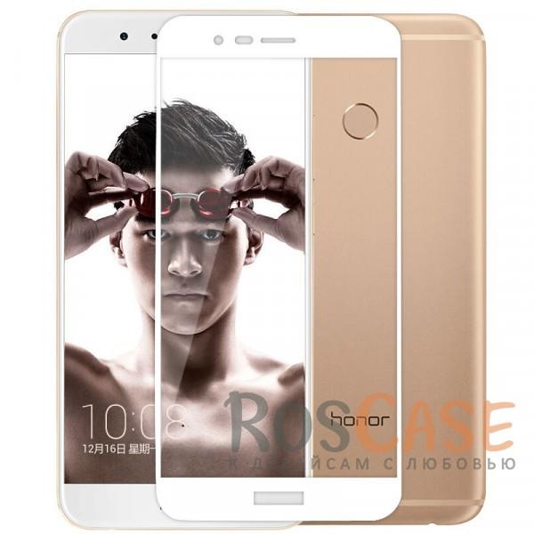 Тонкое олеофобное защитное стекло Mocolo с цветной рамкой на весь экран для Huawei Honor 8 Pro / Honor V9<br><br>Тип: Защитное стекло<br>Бренд: Mocolo