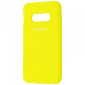 Чехол Silicone Cover для Samsung Galaxy S10  (full protective)