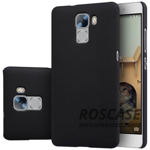 Чехол Nillkin Matte для Huawei Honor 7 (+ пленка) (Черный)Описание:производитель -&amp;nbsp;Nillkin;материал - поликарбонат;совместим с Huawei Honor 7;тип - накладка.&amp;nbsp;Особенности:матовый;прочный;тонкий дизайн;не скользит в руках;не выцветает;пленка в комплекте.<br><br>Тип: Чехол<br>Бренд: Nillkin<br>Материал: Поликарбонат