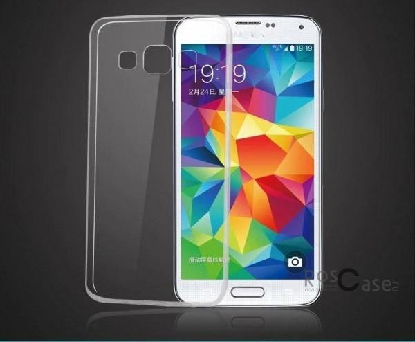 TPU чехол Ultrathin Series 0,33mm для Samsung A700H / A700F Galaxy A7 (Бесцветный (прозрачный))Описание:бренд:&amp;nbsp;Epik;совместим с Samsung A700H / A700F Galaxy A7;материал: термополиуретан;тип: накладка.&amp;nbsp;Особенности:ультратонкий дизайн - 0,33 мм;прозрачный;эластичный и гибкий;надежно фиксируется;все функциональные вырезы в наличии.<br><br>Тип: Чехол<br>Бренд: Epik<br>Материал: TPU