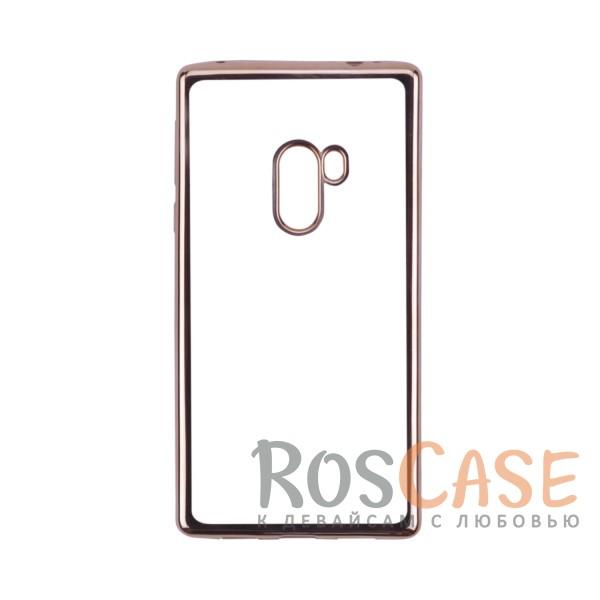 Прозрачный силиконовый чехол для Xiaomi Mi Mix с глянцевой окантовкой (Золотой)Описание:совместим с Xiaomi Mi MIX;глянцевая окантовка;материал - TPU;тип - накладка.<br><br>Тип: Чехол<br>Бренд: Epik<br>Материал: TPU