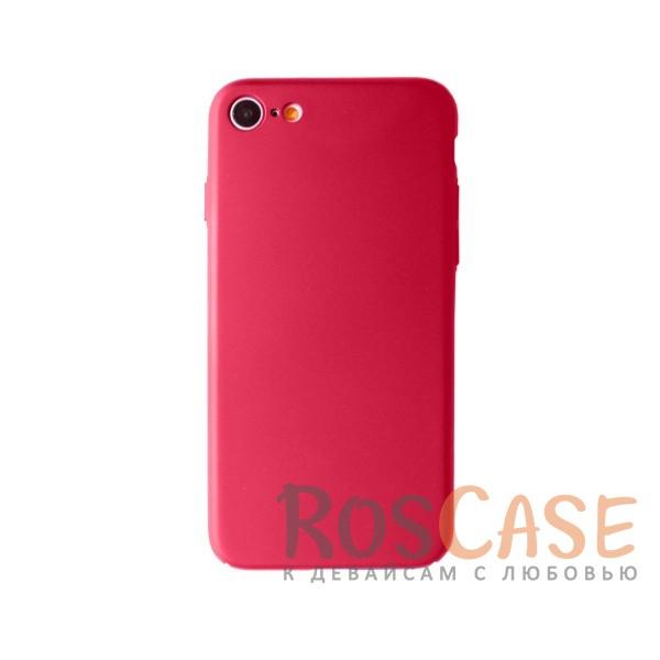 Пластиковая накладка soft-touch с защитой торцов Joyroom для Apple iPhone 7 (4.7) (Красный)<br><br>Тип: Чехол<br>Бренд: Epik<br>Материал: Пластик