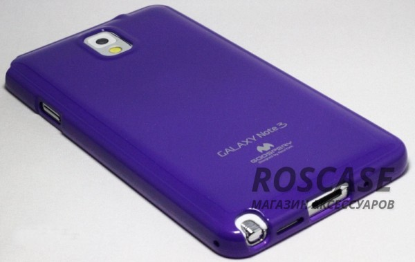 фото Фиолетовый TPU чехол Mercury Jelly Color series для Samsung N9000/N9002 Galaxy Note 3
