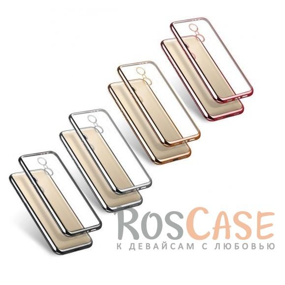 Прозрачный силиконовый чехол для Xiaomi Redmi Note 4X / Redmi Note 4 (SD) с глянцевой окантовкойОписание:совместим с Xiaomi Redmi Note 4X / Redmi Note 4 (SD);глянцевая окантовка;материал - TPU;тип - накладка.<br><br>Тип: Чехол<br>Бренд: Epik<br>Материал: Силикон