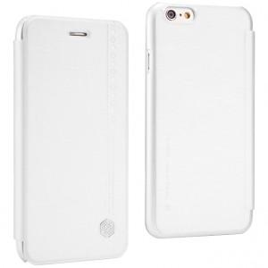 """Кожаный чехол (книжка) Nillkin Rain Series для Apple iPhone 6 plus (5.5"""")  / 6s plus (5.5"""") (+ пленка)"""
