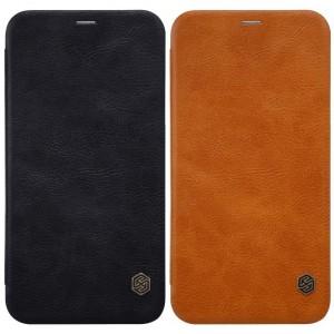"Nillkin Qin натур. кожа | Чехол-книжка для Apple iPhone X (5.8"")"