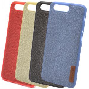 Fiber Logo | TPU чехол с текстильным покрытием для OnePlus 5