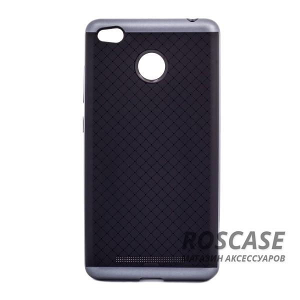 Чехол iPaky TPU+PC для Xiaomi Redmi 3 Pro / Redmi 3s (Черный / Серый)Описание:производитель - iPaky;подходит для Xiaomi Redmi 3 Pro / Redmi 3s;материал: термополиуретан, поликарбонат;форма: накладка на заднюю панель.Особенности:эластичный;рельефная поверхность;прочная окантовка;ультратонкий;надежная фиксация.<br><br>Тип: Чехол<br>Бренд: Epik<br>Материал: TPU