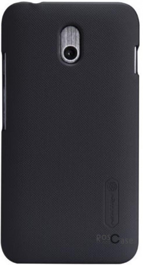 Чехол Nillkin Matte для HTC Desire 210 (+ пленка) (Черный)HTC Desire 210<br>Описание:компания-производитель  -  Nillkin;разработан исключительно для HTC Desire 210;материал  -  пластик;форма  -  накладка.&amp;nbsp;Особенности:ребристая поверхность;имеет все необходимые функциональные вырезы;легко чистится;тонкий дизайн;защищает от механических повреждений;пленка в комплекте;не скользит в руках.<br><br>Тип: Чехол<br>Бренд: Nillkin<br>Материал: Поликарбонат