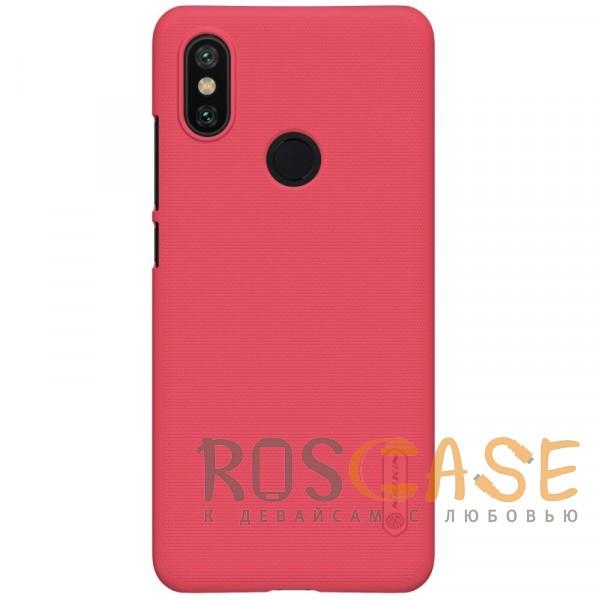 Фото Красный Nillkin Super Frosted Shield | Матовый чехол для Xiaomi Mi 6X / Mi A2