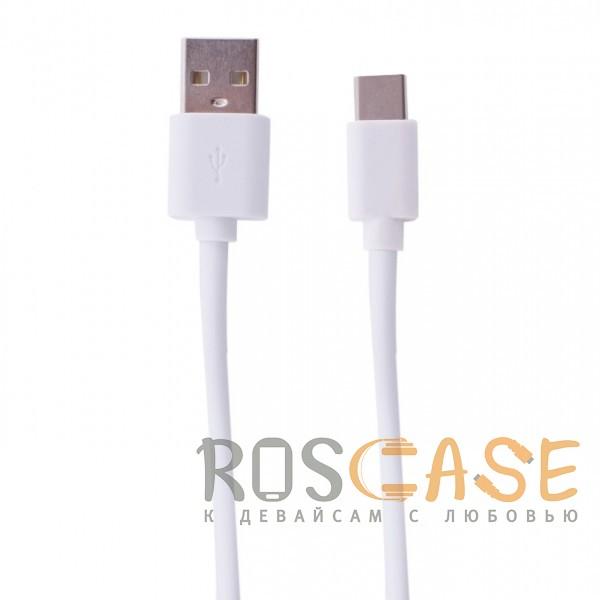 Фото Белый Okami | Дата-кабель USB to Type-C (100см)