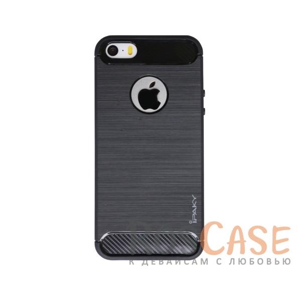 TPU чехол iPaky Slim Series для Apple iPhone 5/5S/SE (Черный)Описание:бренд - iPaky;совместим с Apple iPhone 5/5S/SE;материал: термополиуретан;тип: накладка.Особенности:эластичный;свойство анти-отпечатки;защита углов от ударов;ультратонкий;защита боковых кнопок;надежная фиксация.<br><br>Тип: Чехол<br>Бренд: Epik<br>Материал: TPU
