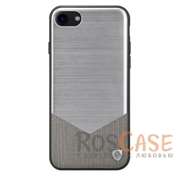 Металлическая накладка из шлифованного алюминия для Apple iPhone 7 / 8 (4.7) (Серебряный)Описание:от компании&amp;nbsp;Nillkin;спроектирован для Apple iPhone 7 / 8 (4.7);материалы: поликарбонат, термополиуретан, металл, искусственная кожа;тип: накладка.&amp;nbsp;Особенности:сочетание маталла и искусственной кожи создают оригинальный стиль;защищает от царапин и потертостей;обладает свойством анти-отпечатки;не скользит в руках и имеет хорошее сцепление с поверхностями;защищает заднюю панель и боковые грани.<br><br>Тип: Чехол<br>Бренд: Nillkin<br>Материал: Металл