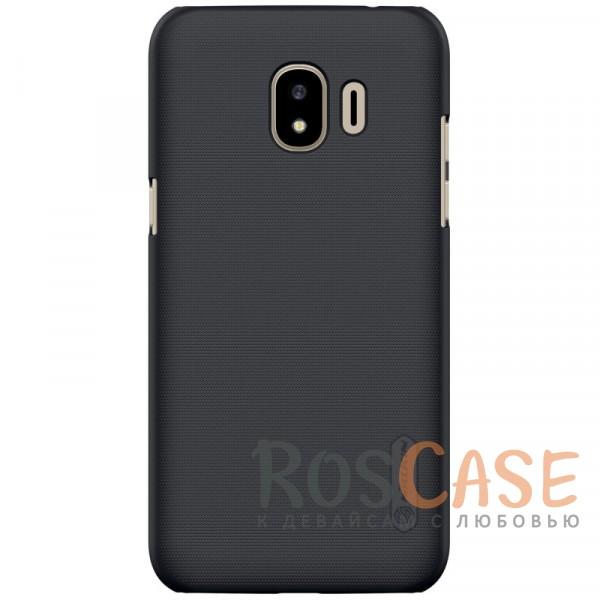 Матовый чехол для Samsung Galaxy J2 Pro (2018) (+ пленка) (Черный)Описание:совместимость:&amp;nbsp;Samsung Galaxy J2 Pro (2018)материал: поликарбонат;тип: накладка;закрывает заднюю панель и боковые грани;защищает от ударов и царапин;рельефная фактура;не скользит в руках;ультратонкий дизайн;защитная плёнка на экран в комплекте.<br><br>Тип: Чехол<br>Бренд: Nillkin<br>Материал: Поликарбонат
