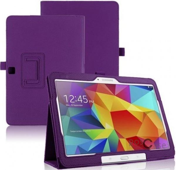 Кожаный чехол-книжка TTX c функцией подставки для Samsung Galaxy Tab 4 10.1/Galaxy Tab S 10.5 (Сиреневый)Описание:разработка и изготовление TTX;изготовлен из синтетической кожи;фактурная поверхность;внутри отделан микрофиброй;тип конструкции: чехол-книжка;совместим с Samsung Galaxy Tab 4 10.1/Galaxy Tab S 10.5.&amp;nbsp;Особенности:износостойкий;добротный классический дизайн;может выполнять функцию подставки;широкая палитра цветов;легко очищается.<br><br>Тип: Чехол<br>Бренд: TTX<br>Материал: Искусственная кожа