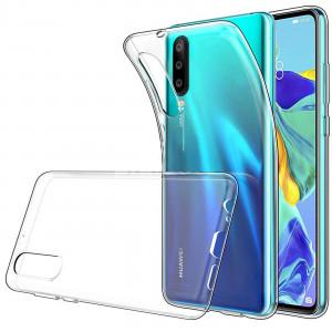 Прозрачный силиконовый чехол  для Huawei Y8P