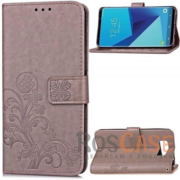 Чехол-книжка с узорами на магнитной застёжке для Samsung G950 Galaxy S8 (Серый)Описание:совместимость - Samsung G950 Galaxy S8;материал - искусственная кожа, поликарбонат;тип - чехол-книжка;защита со всех сторон;функция подставки;магнитная застёжка;текстурный узор;внутреннее отделение для пластиковых карт;предусмотрены все функциональные вырезы.&amp;nbsp;&amp;nbsp;&amp;nbsp;<br><br>Тип: Чехол<br>Бренд: Epik<br>Материал: Искусственная кожа