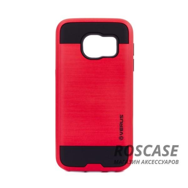 Двухслойный ударопрочный чехол с защитными бортами экрана Verge для Samsung G930F Galaxy S7 (Красный)Описание:бренд - Verge;разработан для&amp;nbsp;Samsung G930F Galaxy S7;материал - термополиуретан, поликарбонат;тип - накладка.&amp;nbsp;Особенности:защита от ударов;не препятствует работе со смартфоном;не скользит в руках;высокие бортики защищают экран;надежное крепление;укрепленная конструкция.<br><br>Тип: Чехол<br>Бренд: Epik<br>Материал: TPU