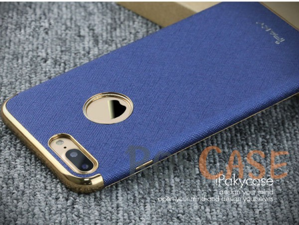 Кожаная накладка iPaky Chrome Series для Apple iPhone 7 plus (5.5) (Синий)Описание:производитель: iPaky;создана для&amp;nbsp;Apple iPhone 7 plus (5.5);материал изделия: искусственная кожа, хромированный пластик;конфигурация: накладка.Особенности:двухцветный дизайн;рельефная фактура;встроенная металлическая пластина;наличие всех функциональных вырезов;защита от царапин и ударов.<br><br>Тип: Чехол<br>Бренд: Epik<br>Материал: Искусственная кожа