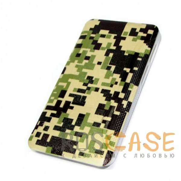Фотография Мозайка-камуфляж  Jidanke   Универсальный чехол-накладка с силиконовым бампером для смартфонов диагональю 4,3-4,7 дюймов