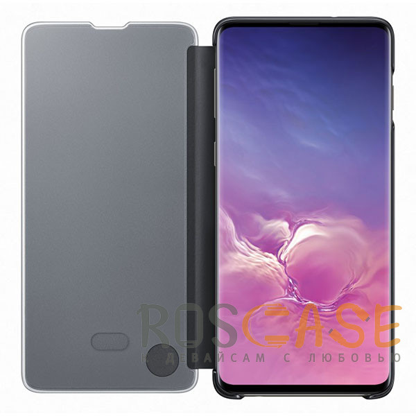 Фотография Черный Чехол-книжка Clear View Standing Cover для Huawei Honor 8A / Y6 (2019)
