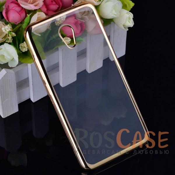 Прозрачный силиконовый чехол для Meizu M5 Note с глянцевой окантовкой (Золотой)Описание:совместим с Meizu M5 Note;глянцевая окантовка;материал - TPU;тип - накладка.<br><br>Тип: Чехол<br>Бренд: Epik<br>Материал: TPU