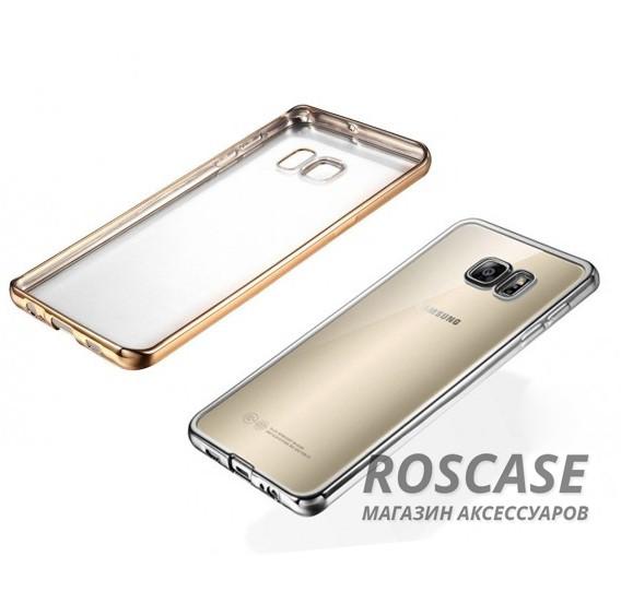 Прозрачный силиконовый чехол для Samsung G930F Galaxy S7 с глянцевой окантовкойОписание:подходит для Samsung G930F Galaxy S7;материал - силикон;тип - накладка.Особенности:глянцевая окантовка;прозрачный центр;гибкий;все вырезы в наличии;не скользит в руках;ультратонкий.<br><br>Тип: Чехол<br>Бренд: Epik<br>Материал: Силикон