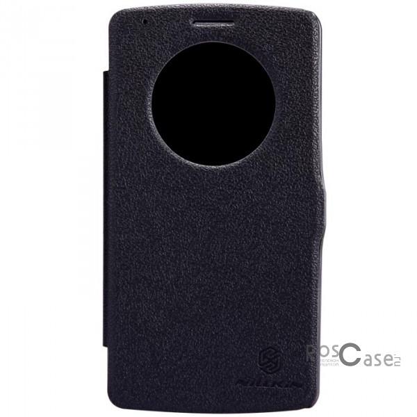 Кожаный чехол (книжка) Nillkin Fresh Series для LG D855/D850/D856 Dual G3 (Черный)Описание:разработка и производство: Nillkin;изготавливается из высококачественной искусственной кожи;тип конструкции  -  &amp;laquo;книжка&amp;raquo;;совместимость - LG D855/D850/D856 Dual G3.&amp;nbsp;Особенности:покрыт изнутри микрофиброй;не увеличивает размеры гаджета;беспрепятственный доступ ко всем узлам управления;стильный дизайн;в руках и на поверхностях не скользит.<br><br>Тип: Чехол<br>Бренд: Nillkin<br>Материал: Искусственная кожа