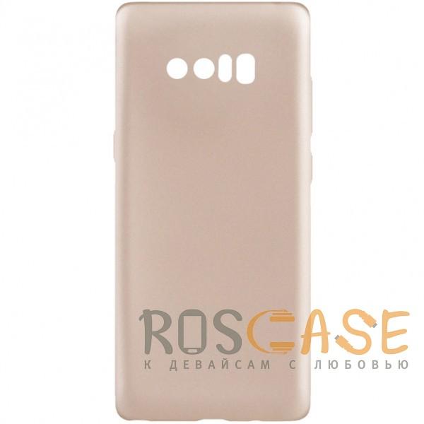 Фото Золотой J-Case THIN   Гибкий силиконовый чехол для Samsung Galaxy Note 8