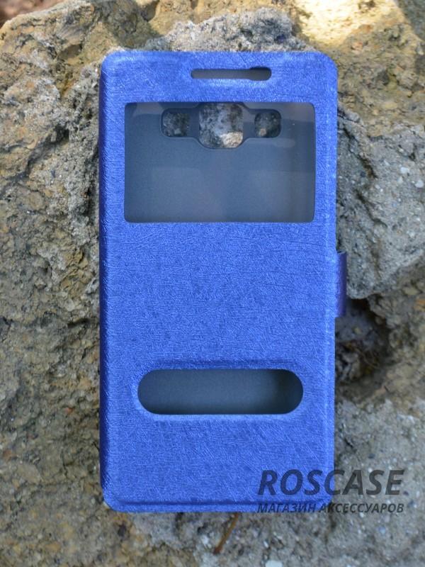 Чехол (книжка) Smart Case Series для Samsung A500H / A500F Galaxy A5 (Темно-синий)Описание:производитель -&amp;nbsp;Epik;совместим с Samsung A500H / A500F Galaxy A5;материал - поликарбонат + кожзам;форма - книжка.Особенности:ультратонкий дизайн;устойчивость к деформации;гладкая поверхность;окошко в обложке;магнитная застежка;наличие необходимых вырезов.<br><br>Тип: Чехол<br>Бренд: Epik<br>Материал: Искусственная кожа