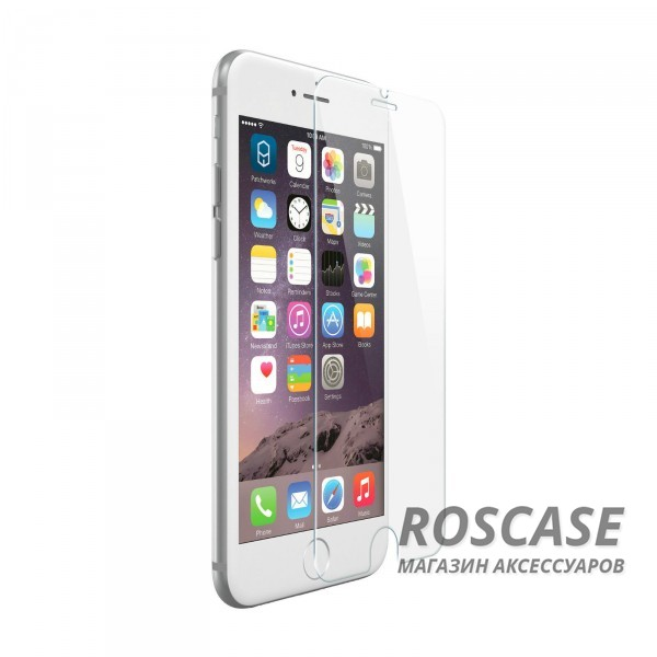 """Фото Защитное стекло на весь экран Goldspin с закругленными краями (3D) для Apple iPhone 6/6s (4.7"""")"""