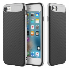 Rock Vision | Тонкий чехол для Apple iPhone 8 с карбоновой вставкой