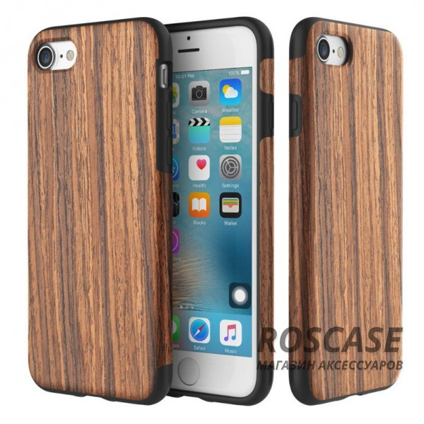 фотография Rosewood Деревянная накладка Rock Origin Series (Grained) для Apple iPhone 7 (4.7