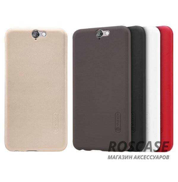 Чехол Nillkin Matte для HTC One / A9 (+ пленка)Описание:производитель - компания&amp;nbsp;Nillkin;материал - поликарбонат;совместим с HTC One / A9;тип - накладка.&amp;nbsp;Особенности:матовый;прочный;тонкий дизайн;не скользит в руках;не выцветает;пленка в комплекте.<br><br>Тип: Чехол<br>Бренд: Nillkin<br>Материал: Поликарбонат