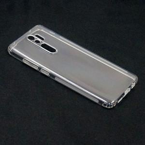 Прозрачный силиконовый чехол для Xiaomi Redmi Note 8 Pro 1мм с защитой камеры