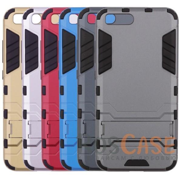 Ударопрочный чехол-подставка Transformer для Xiaomi Mi 6 с мощной защитой корпусаОписание:чехол разработан для Xiaomi Mi 6;материалы - термополиуретан, поликарбонат;тип - накладка;функция подставки;защита от ударов;прочная конструкция;не скользит в руках.<br><br>Тип: Чехол<br>Бренд: Epik<br>Материал: Пластик