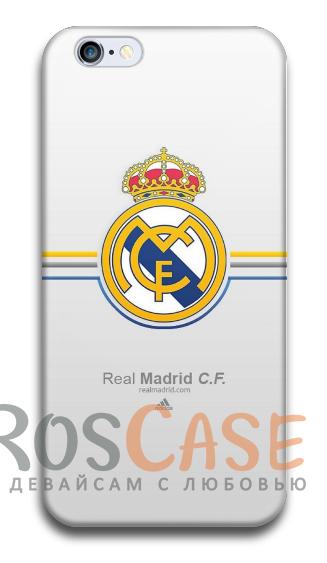 """Фото Реал Мадрид №2 Пластиковый чехол RosCase """"Футбольные команды"""" для iPhone 5C"""