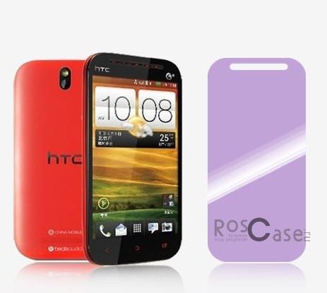 Защитная пленка Nillkin для HTC One SV / Desire SVОписание:бренд:&amp;nbsp;Nillkin;совместима с HTC One SV / Desire SV;материал: полимер;тип: защитная пленка.&amp;nbsp;Особенности:все необходимые функциональные вырезы;не желтеет;антиблик;не влияет на чувствительность сенсора;легко очищается;устанавливается при помощи электростатики;защита от царапин и потертостей.<br><br>Тип: Защитная пленка<br>Бренд: Nillkin